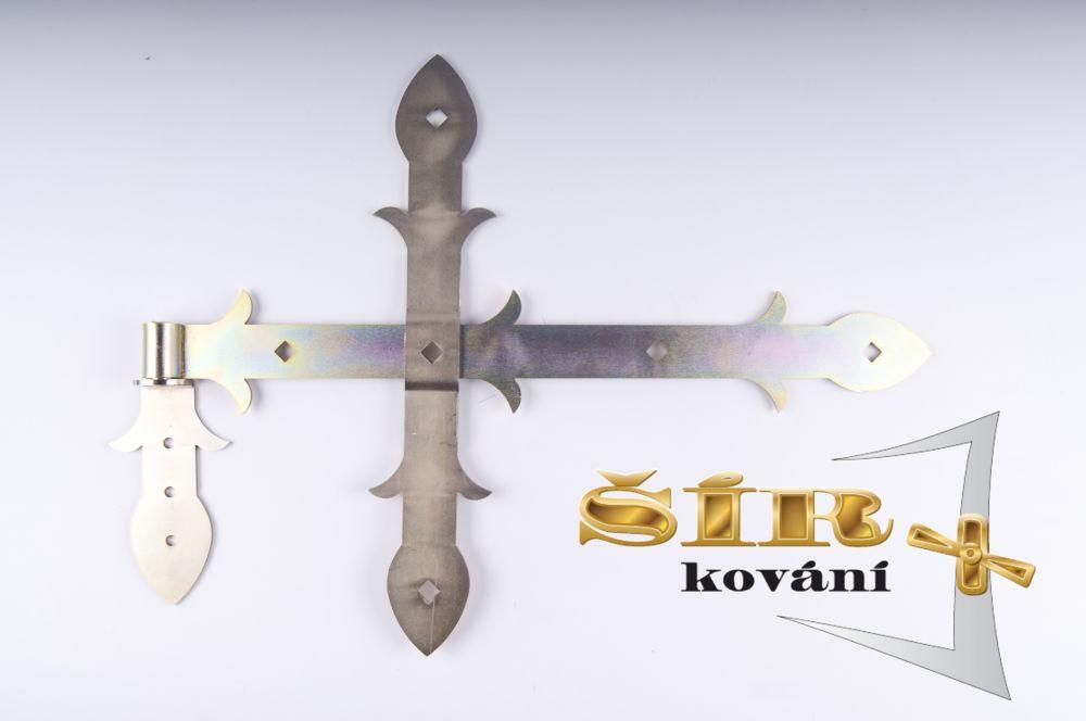 Křížový díl SELKA pro vratové závěsy FeZn SELKA 30,45,60