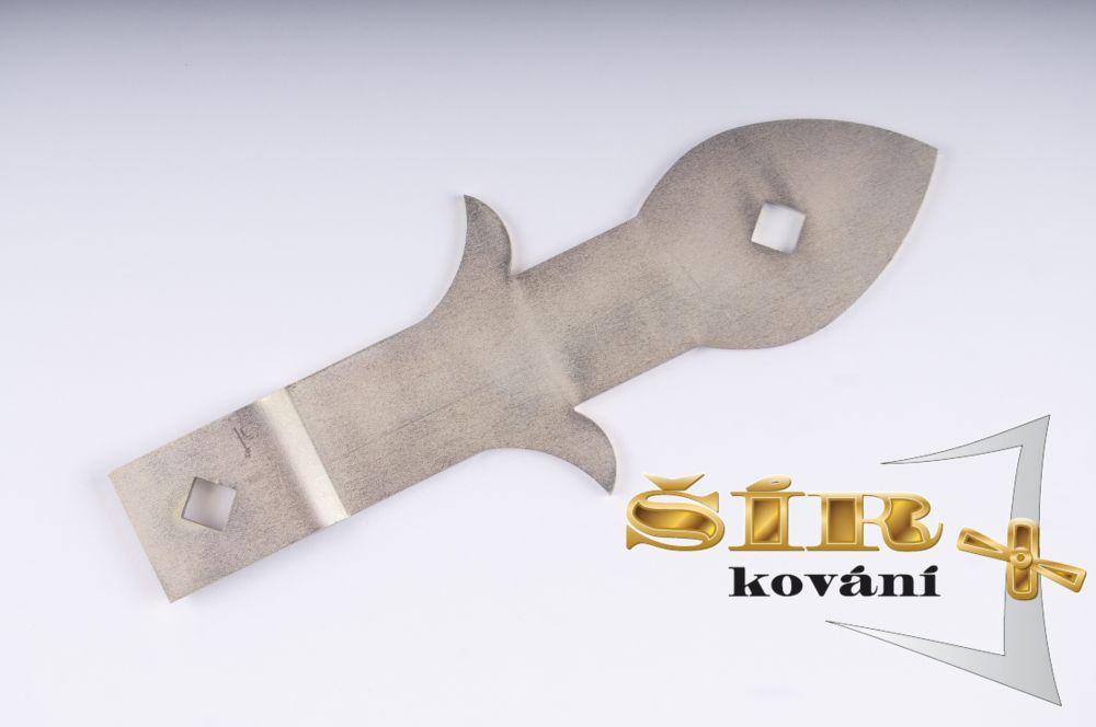 Úhlový díl SELKA pro vratové závěsy FeZn SELKA 30,45,60
