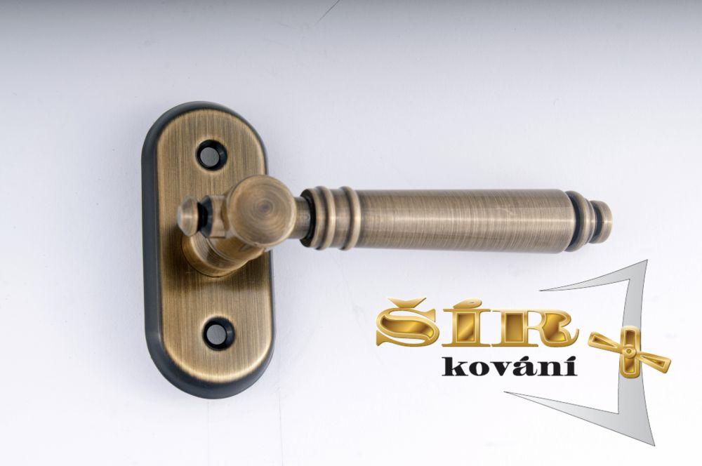 Klika Balkon EVA BR - hranol 8x8 pro balkonový zámek