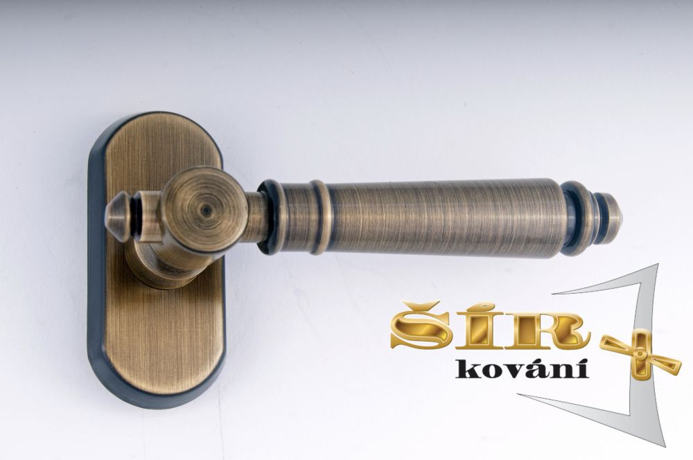 EURO Klika EVA BR - pevný hranol 7x7 pro EURO OKNA uni P/L, polohovací