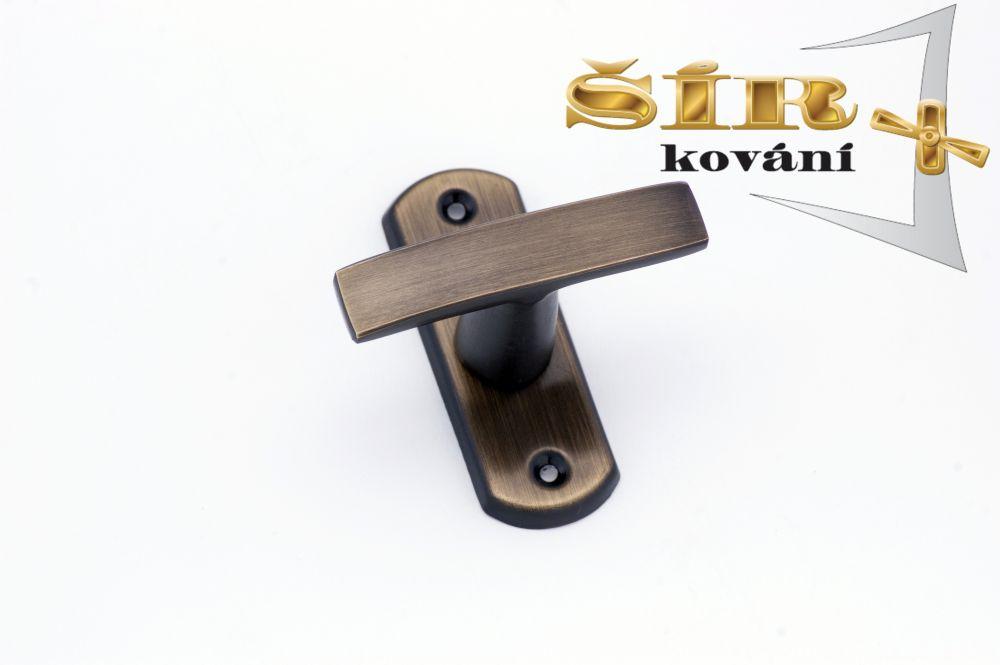 Oliva DANA BR - bez hranolu 6x6 pro okenní jazýček