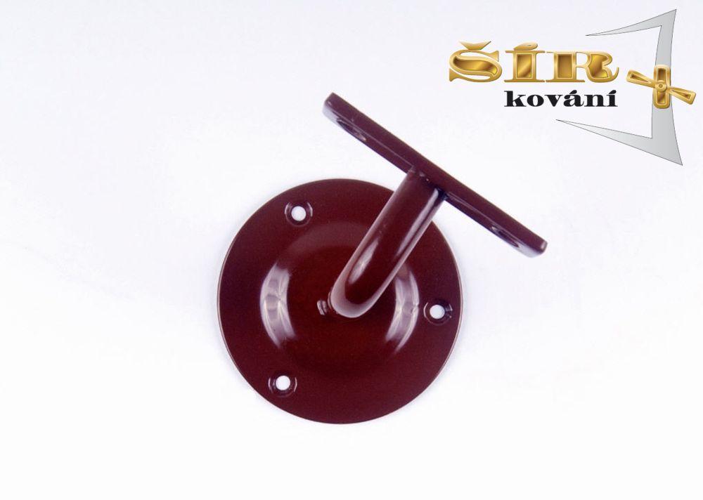 Univerzální držák madla schodišťového zábradlí - Typ NOVA Hnědý RAL