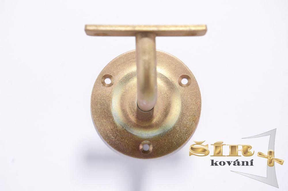 Univerzální držák madla schodišťového zábradlí - Typ NOVA Zlatý pozink