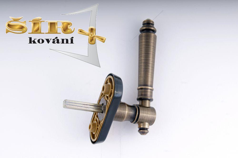 EURO Klika EVA BR - pevný hranol 7x7 pro EURO OKNA uni P/L, polohovací 1/ks