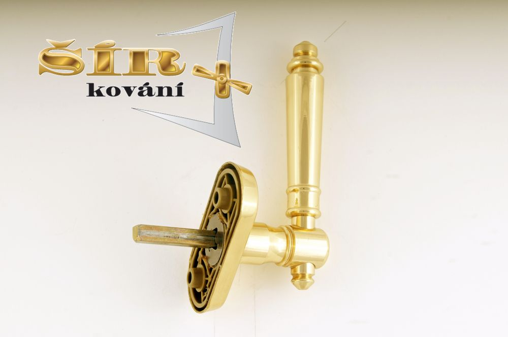 EURO Klika EVA MS - pevný hranol 7x7 pro EURO OKNA uni P/L, polohovací 10/ks