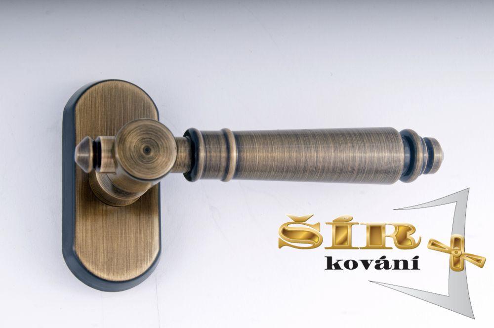 EURO Klika EVA BR - pevný hranol 7x7 pro EURO OKNA uni P/L, polohovací 10/ks